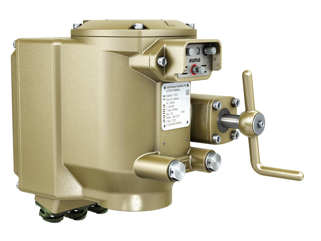 Actuators SGM and SGMR